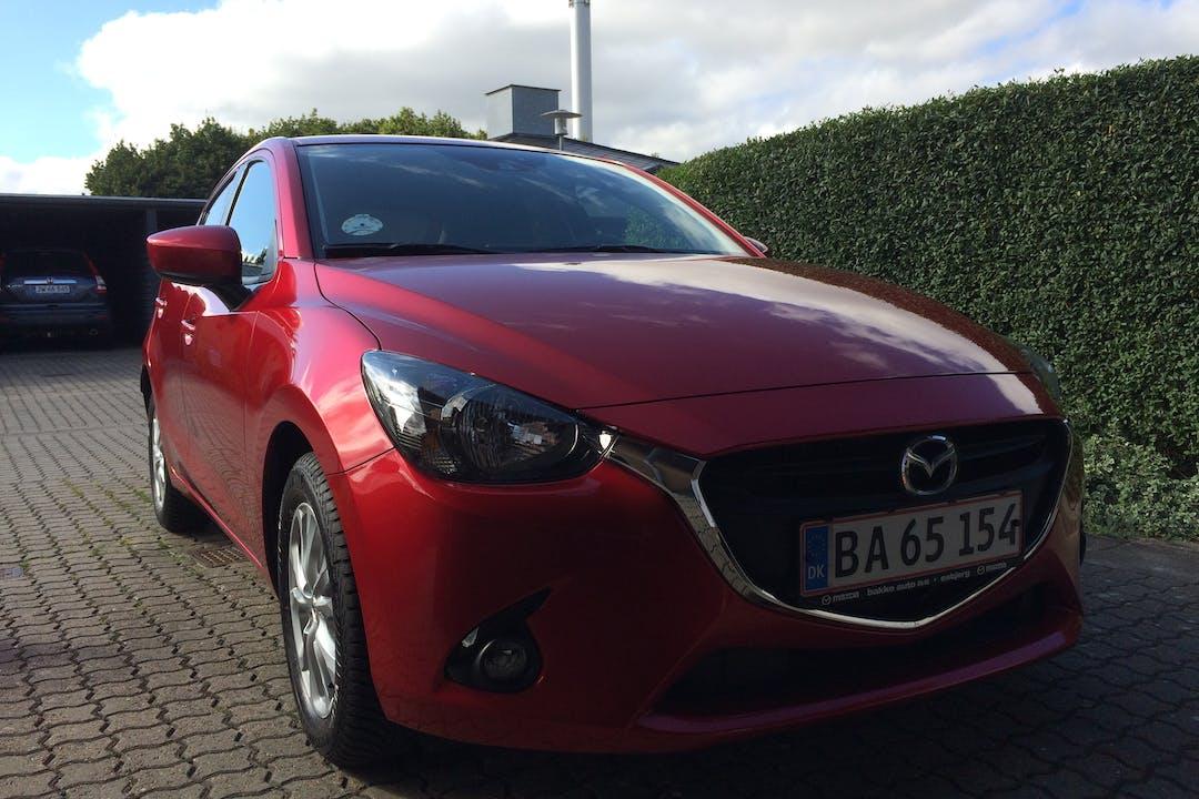 Billig billeje af Mazda 2 nær 2100 København.