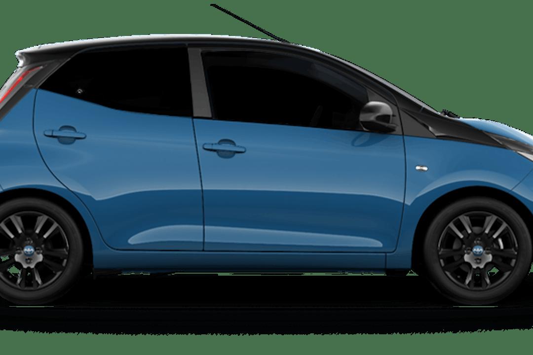 Billig billeje af Toyota Aygo x cite 1.0 nær 2900 Hellerup.