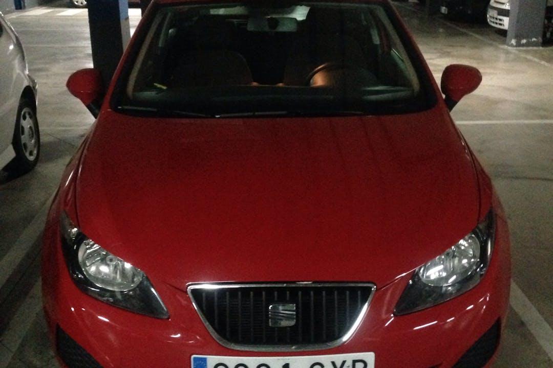 Alquiler barato de Seat Ibiza Reference 1.2 12V cerca de 28031 Madrid.