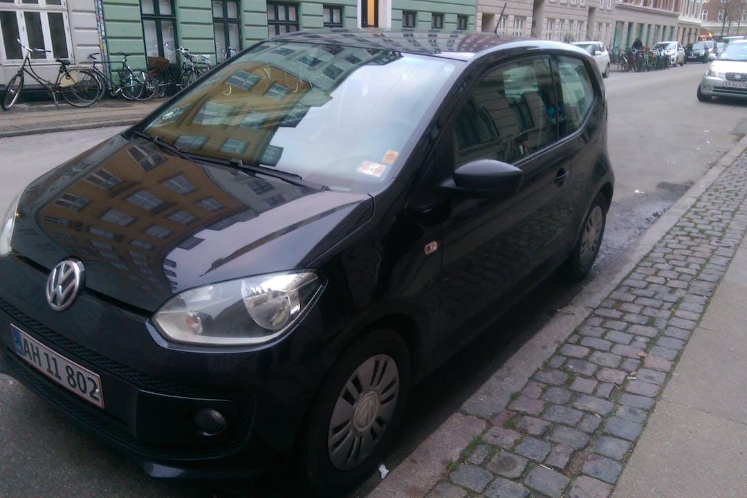 Billig billeje af VW UP! nær 1721 København.