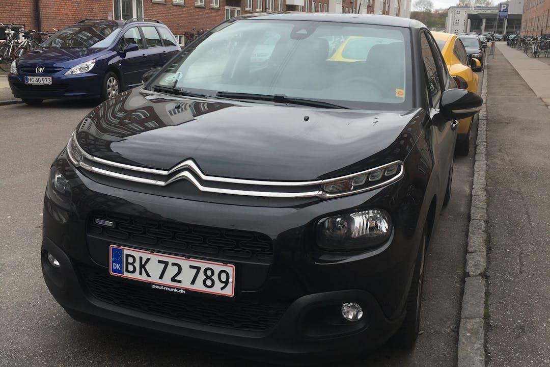 Billig billeje af Citroën C3 1,2  nær 2100 København.