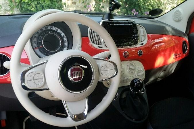 Billig billeje af Fiat 500 med Barnesæde nær 8700 Horsens.