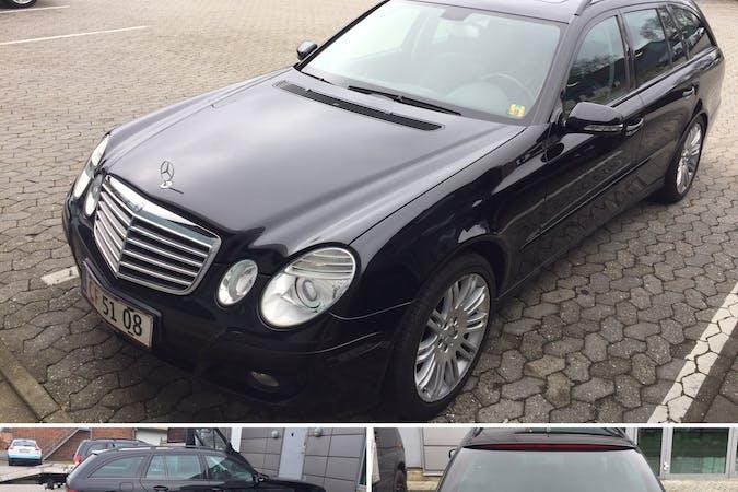 Billig billeje af Mercedes E200  nær 6000 Kolding.
