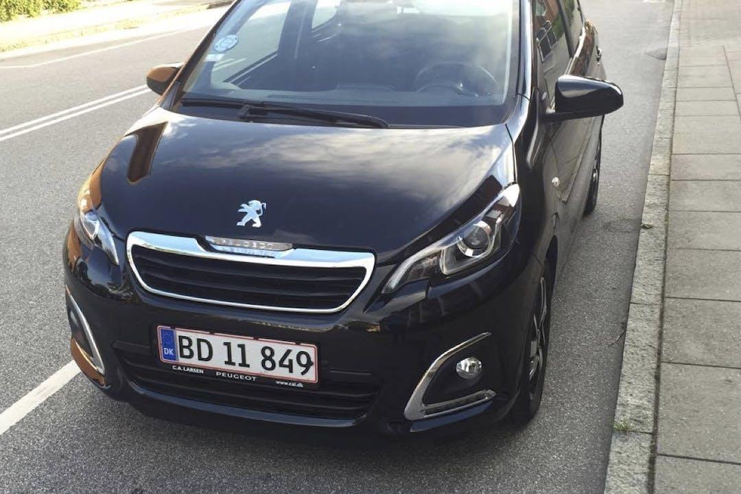 Billig billeje af Pegeot 108 More, 1.0 eVTI 69 HK 5 Døre nær 7400 Herning.