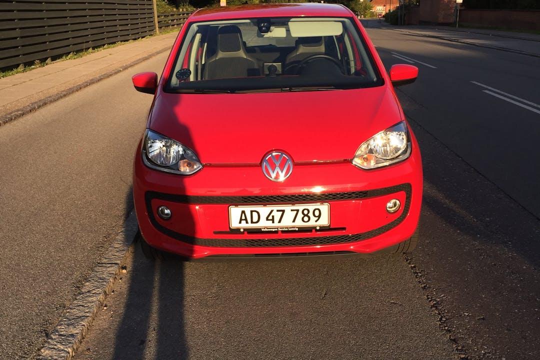 Billig billeje af VW up med GPS nær 2860 Søborg.