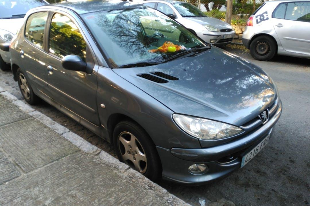 Alquiler barato de Peugeot 206 Xs-Line 1.4 Hdi cerca de 11405 Jerez de la Frontera.
