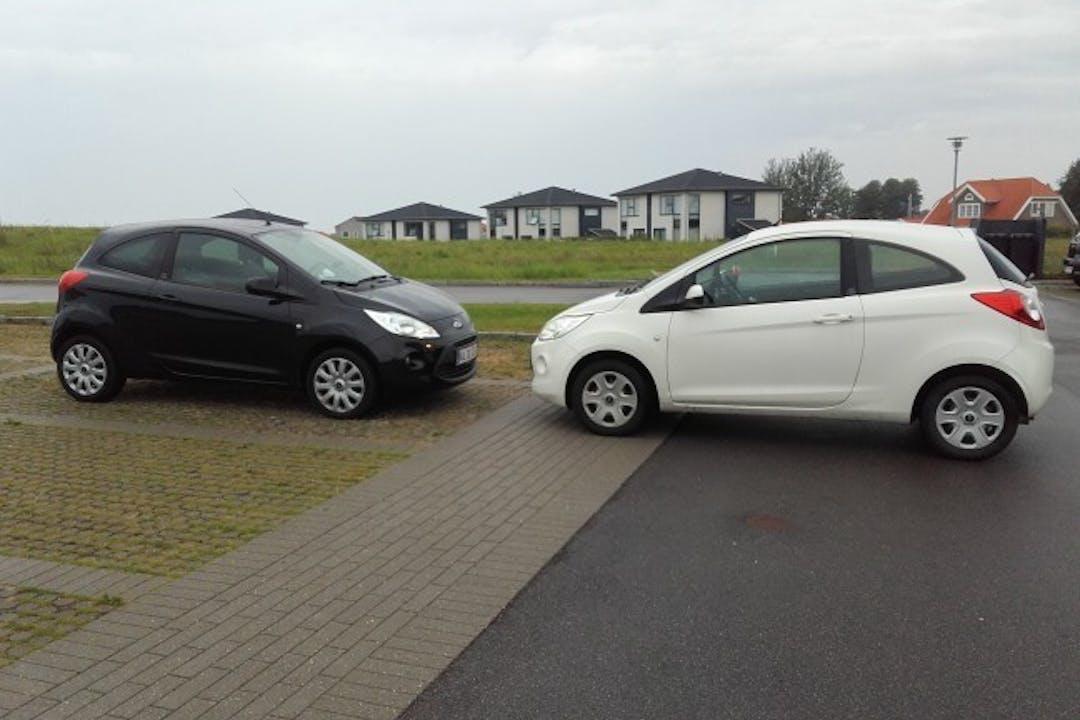Billig billeje af Ford KA 1,2 nær 4300 Holbæk.