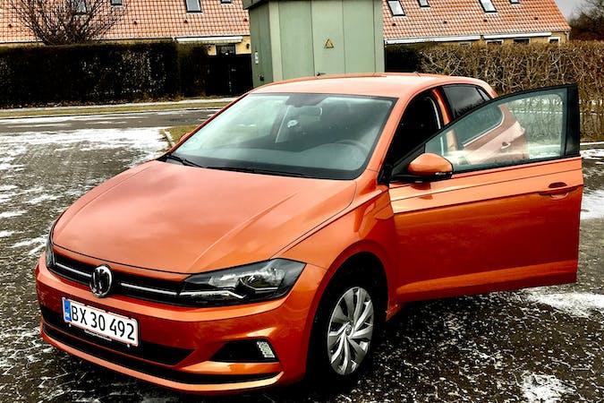 Billig billeje af VW Polo Comfortline 1,0 TSI 95HK med Bluetooth nær 2860 Søborg.