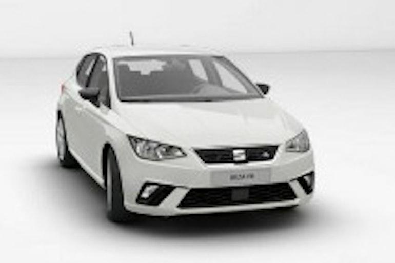 Alquiler barato de Seat Ibiza Fr 1.0 Ecotsi 110 S&S con equipamiento Fijaciones Isofix cerca de 18002 Granada.