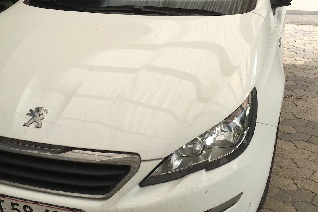 Billig billeje af Peugeot 308 SW 1,6 Style med Anhængertræk nær 4000 Roskilde.
