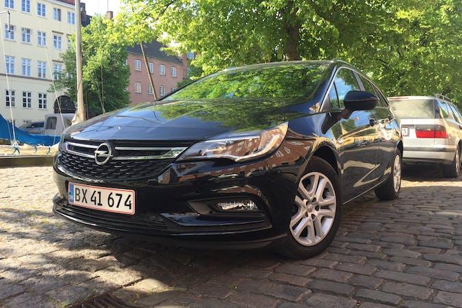 Billig billeje af Opel Astra ST 1.6 diesel 136 hk nær 1415 København.