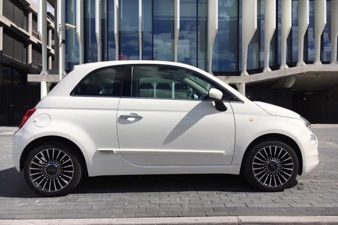 Alquiler barato de Fiat 500 1.2 Glp Lounge cerca de 28026 Madrid.