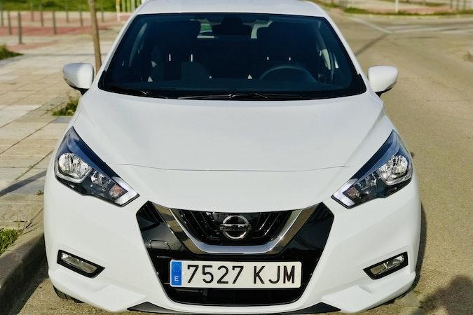 Alquiler barato de Nissan Micra 1.2 80 Acenta Plus con equipamiento AUX/Reproductor MP3 cerca de 28012 Madrid.