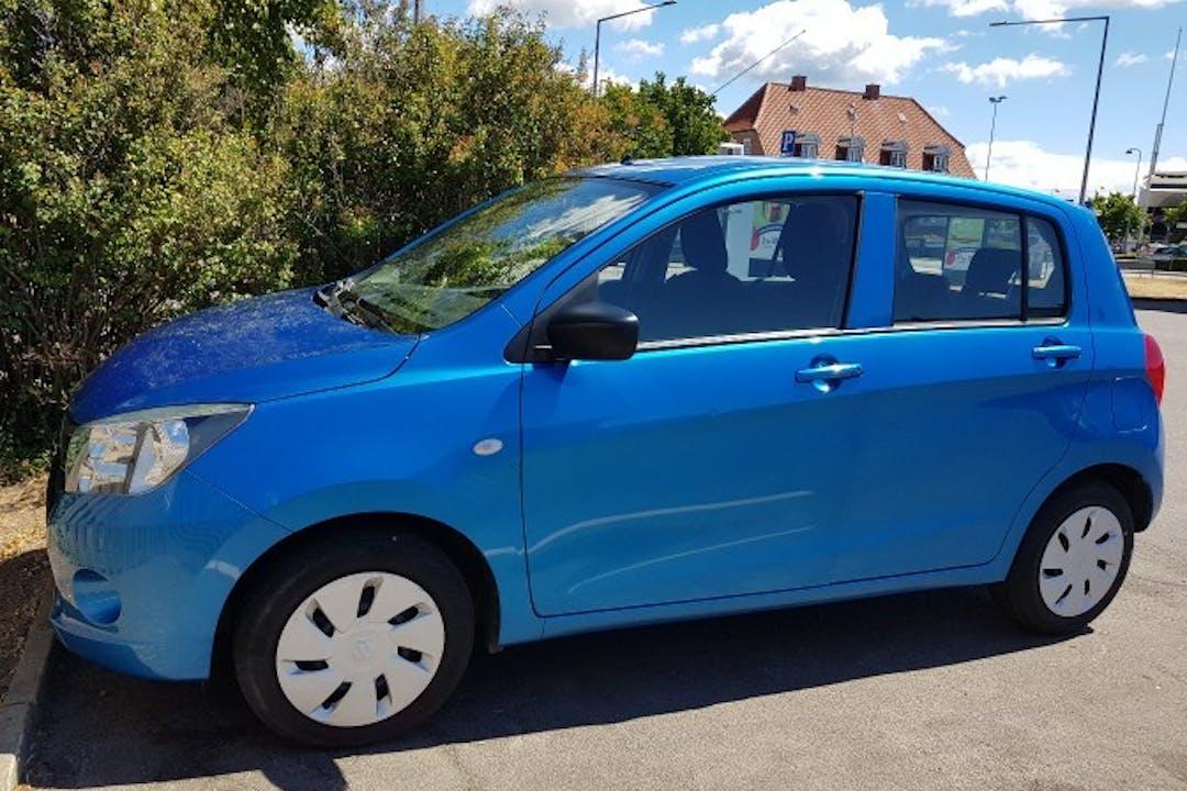 Billig billeje af Suzuki celerio  med Isofix beslag nær 3790 Hasle.