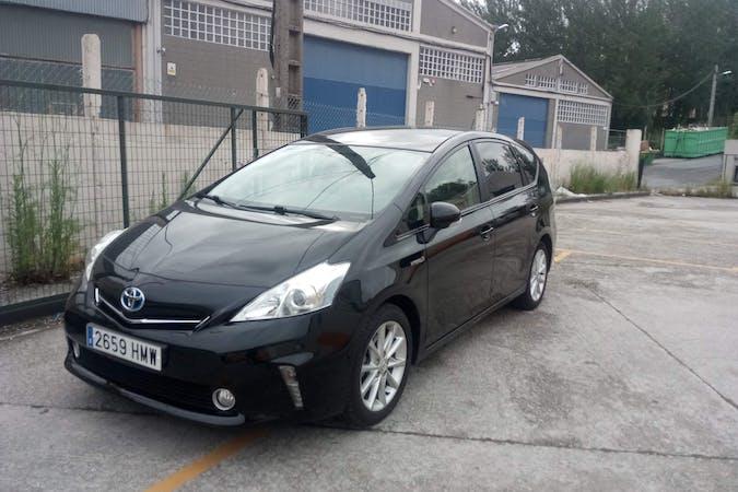 Alquiler barato de Toyota Prius+ cerca de 38108 San Cristóbal de La Laguna.
