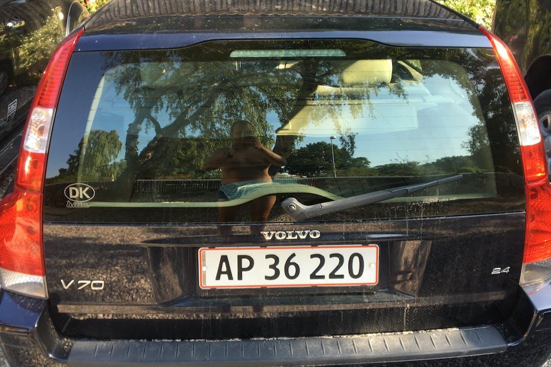 Billig billeje af Volvo V70 med Anhængertræk nær 3100 Hornbæk.