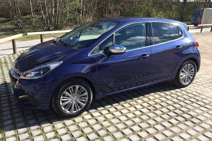 Billig billeje af Peugeot 208 blue HDI desire nær 8800 Viborg.