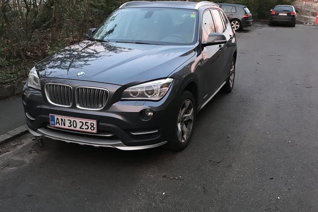 Billig billeje af BMW X1 nær 2900 Hellerup.