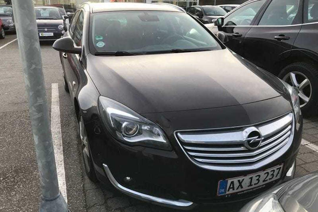Billig billeje af Opel Insignia stc, aut., navi, Diesel med GPS nær 5230 Odense.