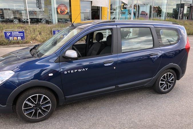 Billig billeje af Dacia Lodgy Stepway med GPS nær 8960 Randers.