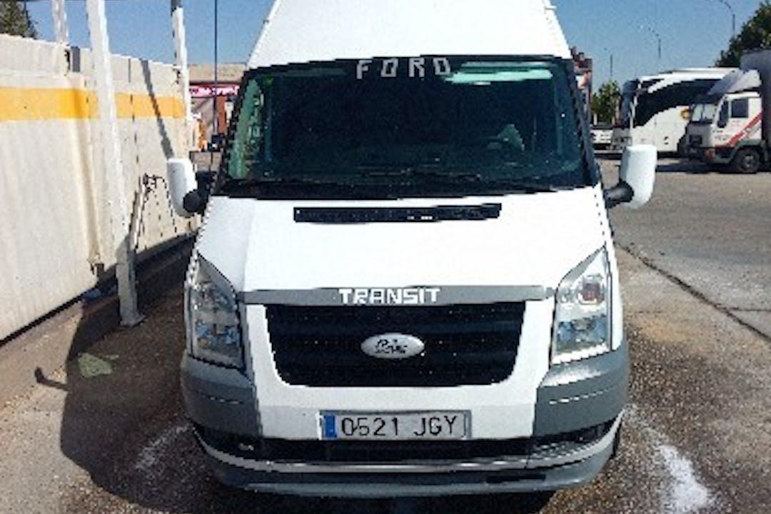 Alquiler barato de Ford Transit 350 Caab L 115 Vulcano cerca de 37003 Salamanca.