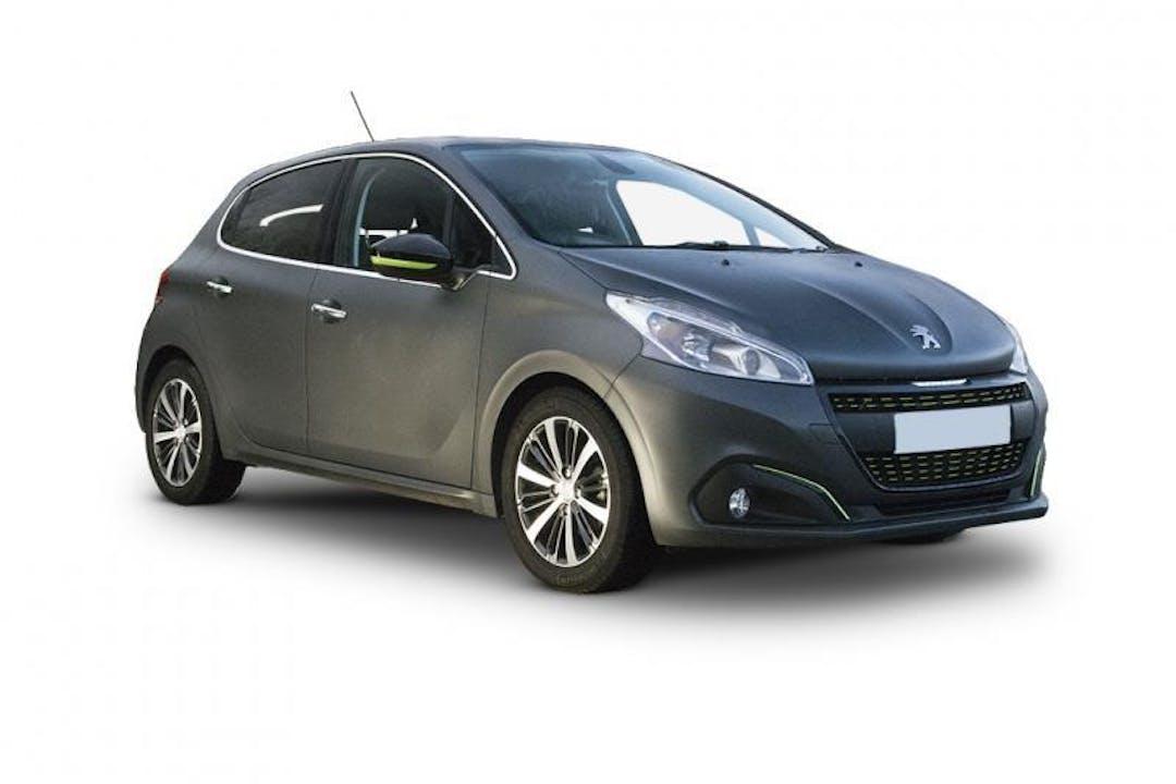 Billig billeje af Peugeot 208 Active 1,6 BlueHDI 100HK med GPS nær 8000 Aarhus.