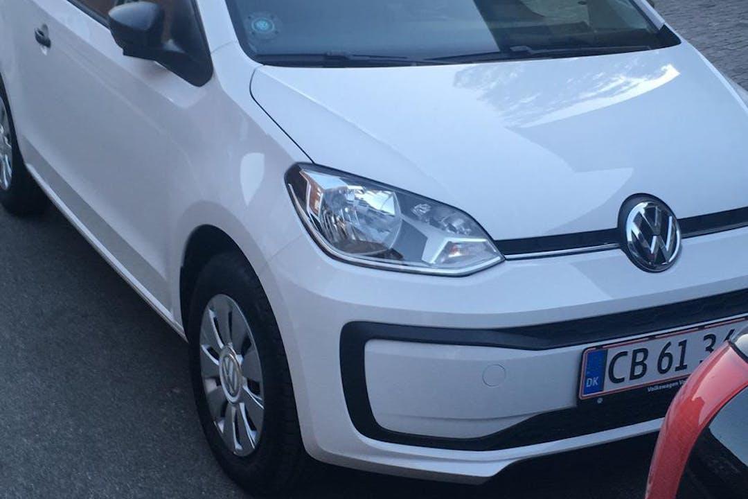 Billig billeje af VW up! med Aircondition nær 2500 København.