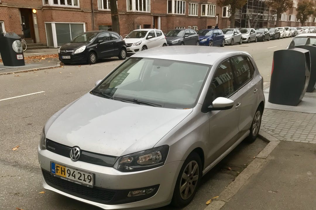 Billig billeje af VW Polo nær 8000 Aarhus.