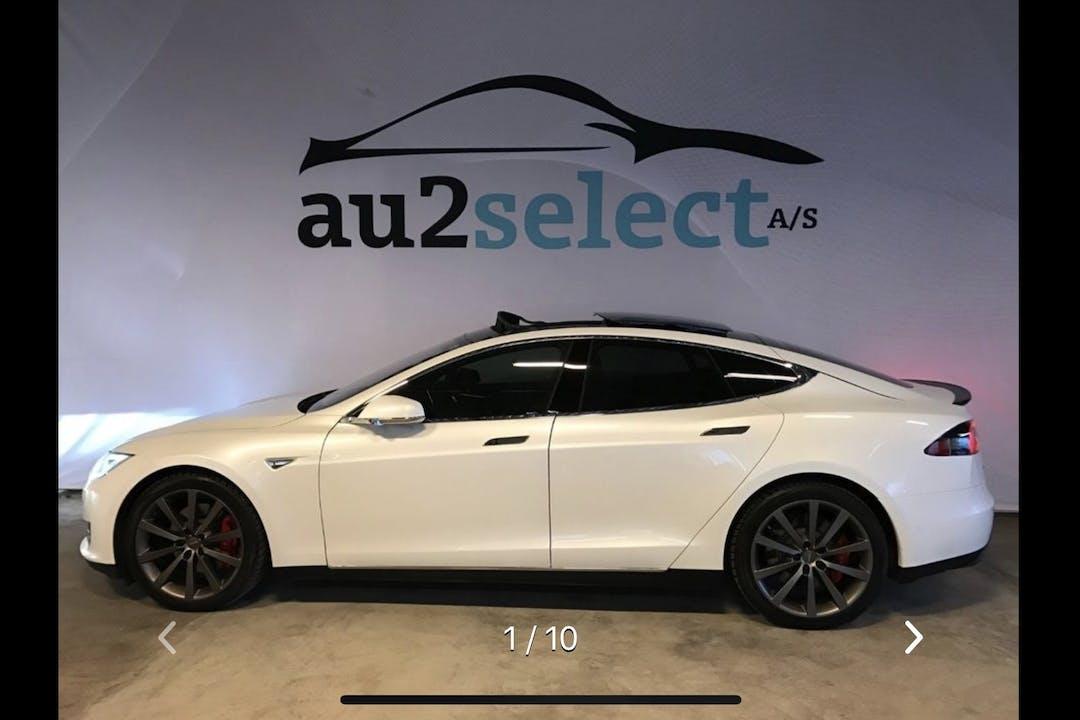 Billig billeje af Tesla Model S P90D 765 HK nær 8620 Kjellerup.