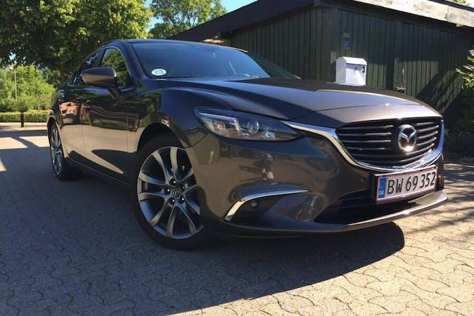 Billig billeje af Mazda 6 2.0 Benzin. med Isofix beslag nær 2605 Brøndbyvester.