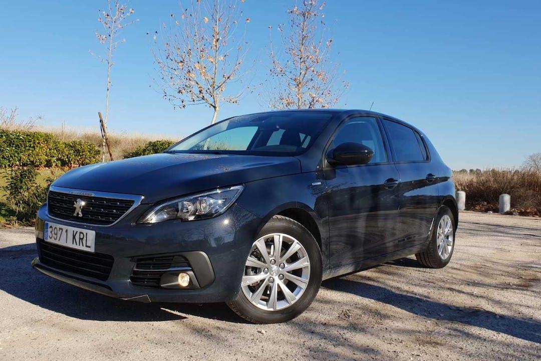 Alquiler barato de Peugeot 308 Style 1.2 130 Puretech cerca de 28030 Madrid.