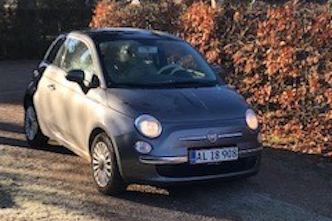 Billig billeje af Fiat 500  nær 8600 Silkeborg.