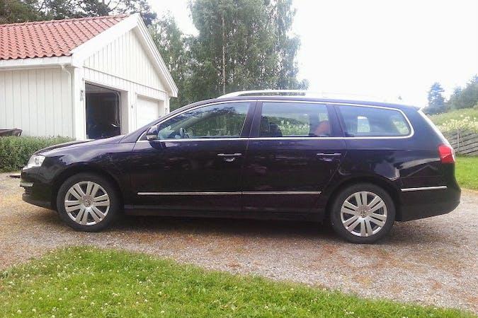 Billig billeje af VW Passat 2.0 TDI 4motion nær 2000 Frederiksberg.