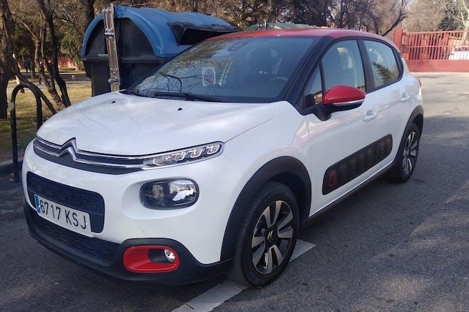Alquiler barato de Citroën C3 cerca de 28012 Madrid.