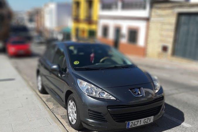 Alquiler barato de Peugeot 207 Business Line 1.4 Hdi 70 cerca de 41500 Alcalá de Guadaíra.