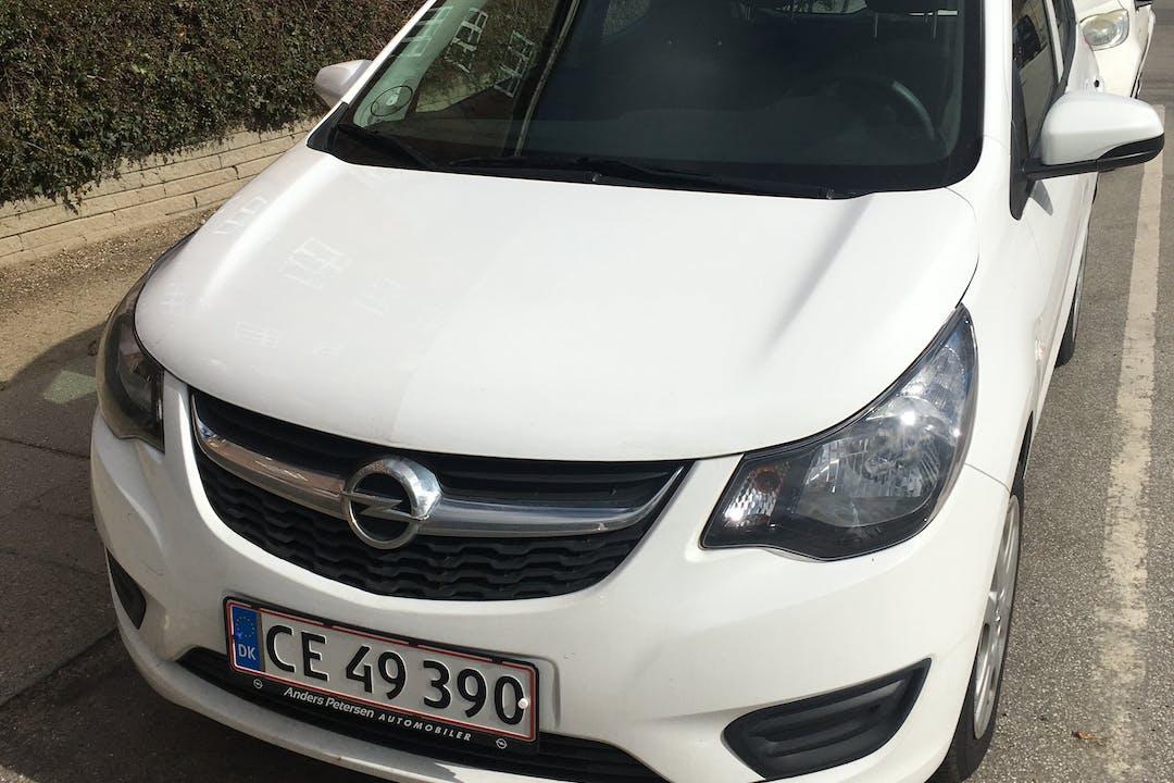 Billig billeje af Opel Karl 1.0 Enjoy nær 2500 København.