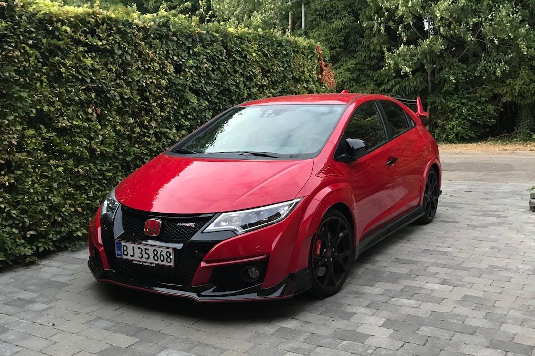 Billig billeje af Honda Civic Type R, FK2, 310Hk nær  .
