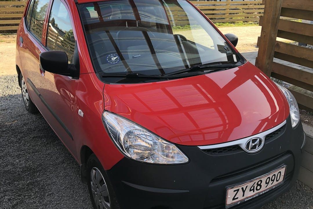 Billig billeje af Hyundai i10 nær 3400 Hillerød.