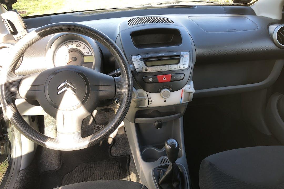 Billig billeje af Citroën C1 med Isofix beslag nær 8960 Randers.
