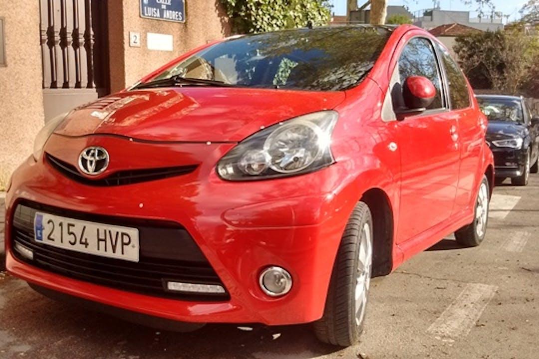 Alquiler barato de Toyota Aygo 1.0 Vvt-I City cerca de 28039 Madrid.