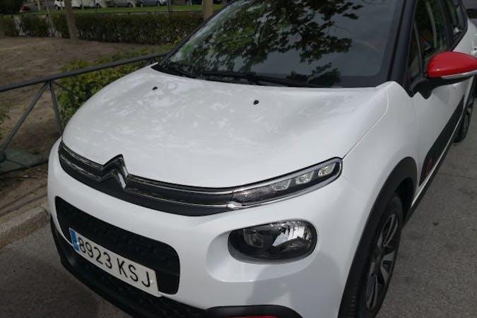 Alquiler barato de Citroën C3 cerca de 28017 Madrid.