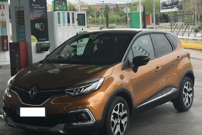 Alquiler barato de Renault Captur Intens Dci90 Energy Eco2 con equipamiento GPS cerca de 28022 Madrid.
