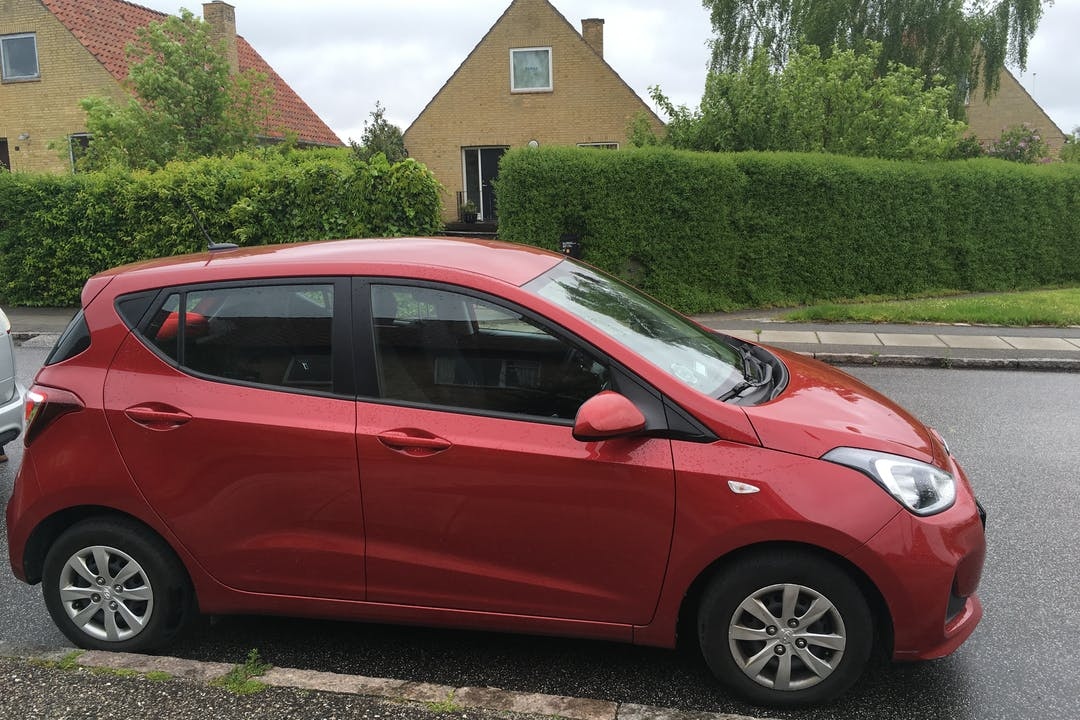 Billig billeje af Hyundai I10 nær 8230 Aarhus.