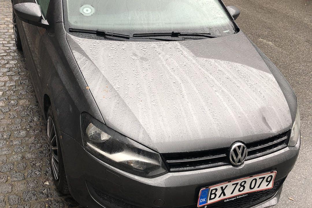 Billig billeje af VW Polo 1.6 med Bluetooth nær 2000 Frederiksberg.