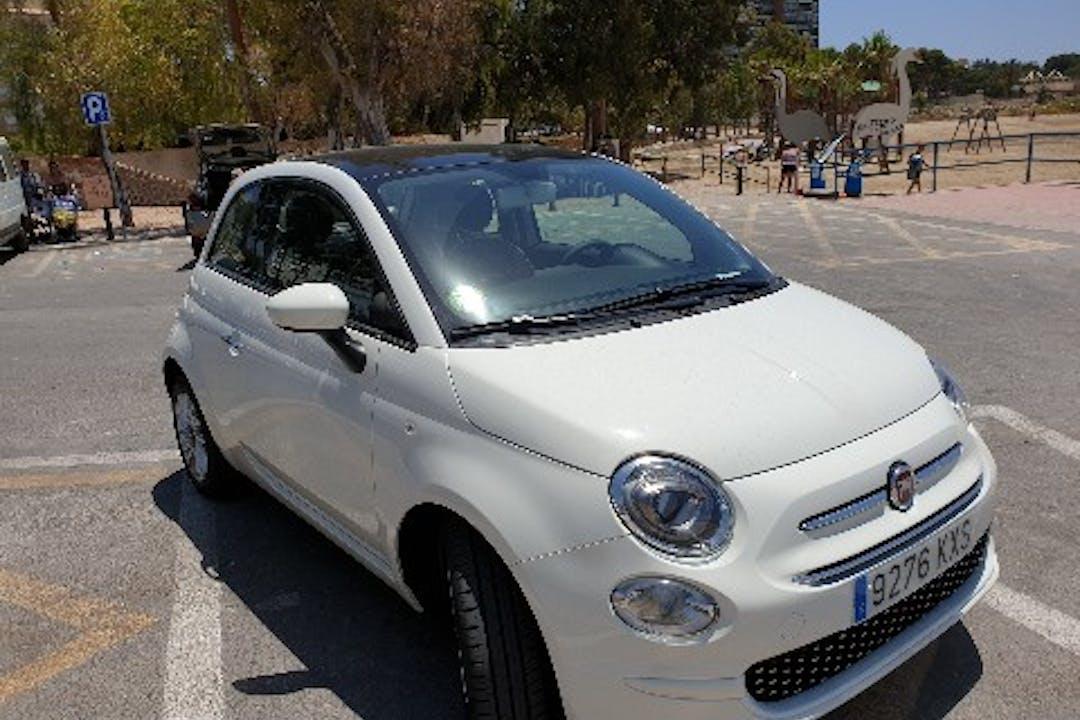 Alquiler barato de Fiat 500 1.2 Lounge cerca de 03016 Alacant.