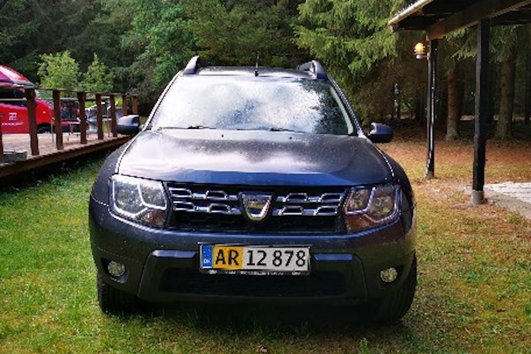 Billig billeje af Duster Dacia 1.6, 105 HK, Diesel  med GPS nær 8600 Silkeborg.