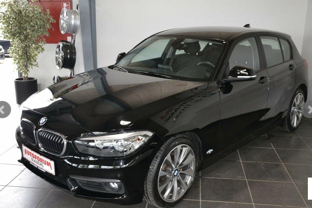 Billig billeje af BMW 118d nær 2150 København.