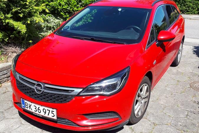 Billig billeje af Opel Astra Sports Tourer 1,0 med Isofix beslag nær 4000 Roskilde.
