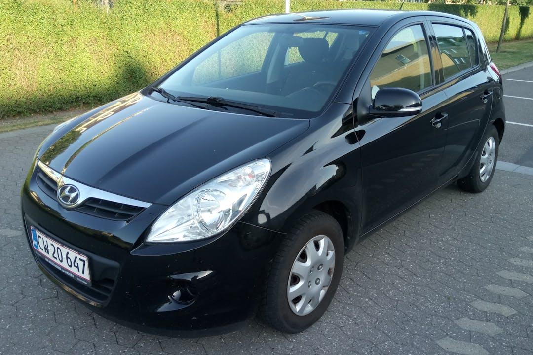 Billig billeje af Hyundai i20 nær 4700 Næstved.