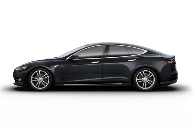 Billig billeje af Tesla Model S85 med GPS nær 9574 Bælum.